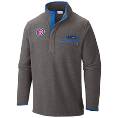 CHICAGO CUBS HARBORSIDE PULLOVER FLEECE JACKET BY COLUMBIA - Pro Jersey Sports