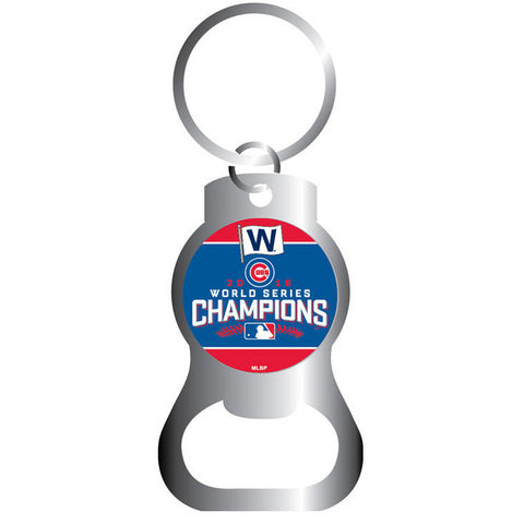 Chicago Cubs 2016 World Series Champions Bottle Opener Key Ring By Aminco