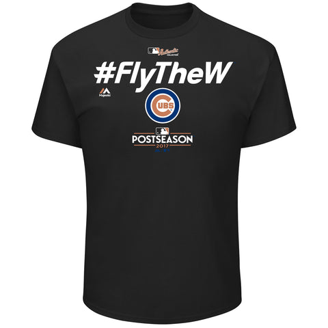 Chicago Cubs 2017 Division Series Clincher Locker Room T-Shirt By Majestic