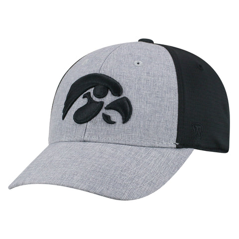 Mens Iowa Hawkeyes Fabooia One Fit Flex Fit Hat By Top Of The World