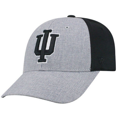 Mens Indiana Hoosiers Fabooia One Fit Flex Fit Hat By Top Of The World