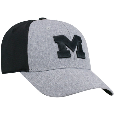 Mens Michigan Wolverines Fabooia One Fit Flex Fit Hat By Top Of The World