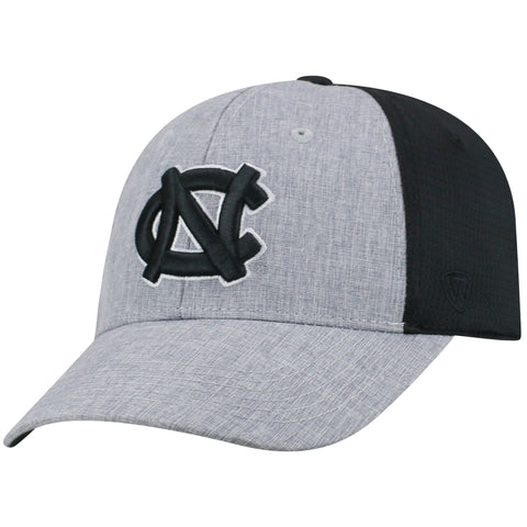 Mens North Carolina Tar Heels Fabooia One Fit Flex Fit Hat By Top Of The World