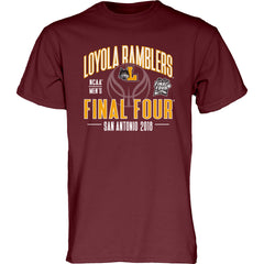 Mens Loyola Ramblers Factor Tee By Blue 84