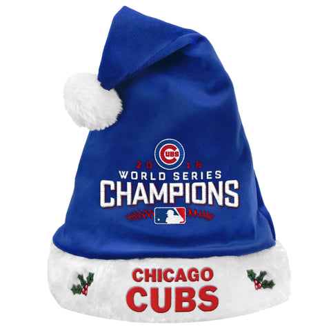 Chicago Cubs 2016 World Series Champions Christmas Hat