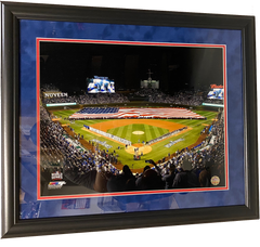 "Chicago Cubs 2016 World Series Wrigley Field  23"" x 27""  Overall Framed Photo"