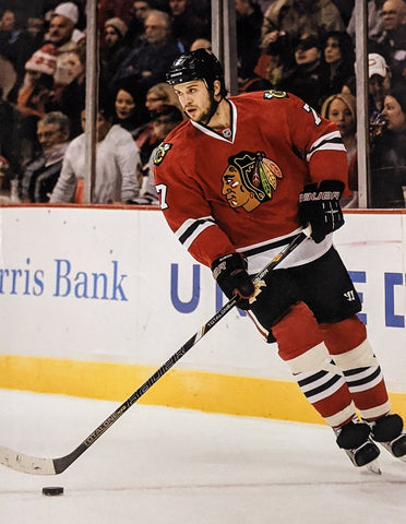 Brent Seabrook Chicago Blackhawks NHL Action Photo (Size: 8X10)