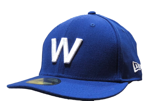 "Chicago Cubs New Era Low Crown MLB ""W"" 59FIFTY Fitted Cap"