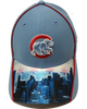 Chicago Cubs Skyline Sublimated Vision Brim New Era 39THIRTY Fitted Hat Cap