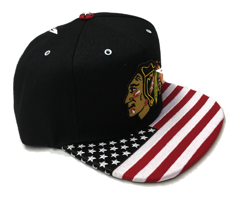 Chicago Blackhawks Anthem Snapback Hat By Zephyr