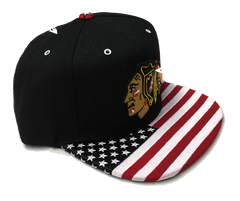 Chicago Blackhawks Anthem Snapback Hat By Zephyr - Pro Jersey Sports - 1