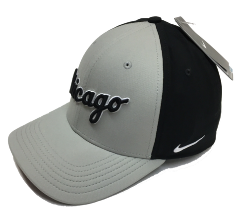 Mens Chicago White Sox Road Logo Nike Core Class Adjustable Hat