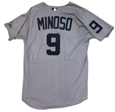 Minnie Minoso Chicago White Sox MLB 1960 Road Authentic Gray Cool Base Jersey
