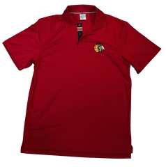 Chicago Blackhawks Evolve Polo By Levelwear-Red
