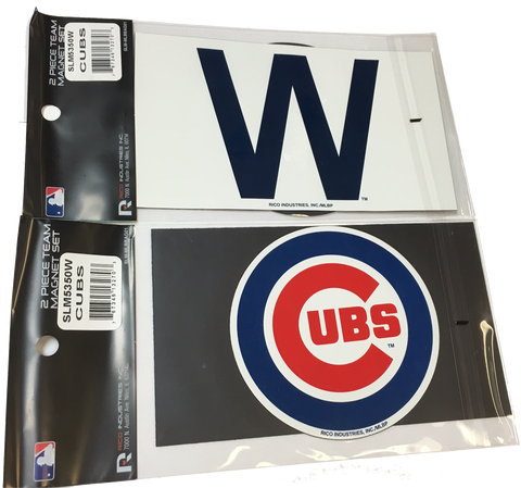 Cubs 2 pack Magnet Set - Pro Jersey Sports