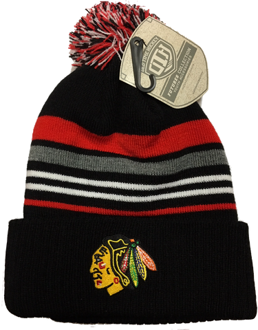 Chicago Blackhawks Youth Cumber Cuffed Beanie Hat