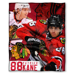 Chicago Blackhawks Patrick Kane Throw Blanket - Pro Jersey Sports