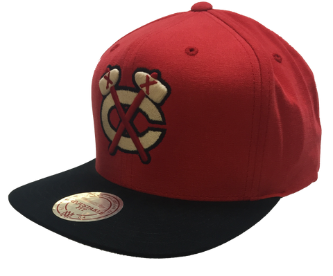 Chicago Blackhawks Sandy Off White Snapback Cap By Mitchell & Ness - Pro Jersey Sports - 1