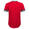 Youth Chicago Bulls Twill V-Neck Mesh Fashion Jersey Tee