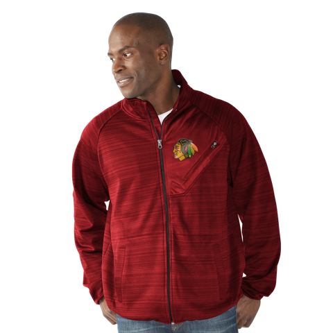 Chicago Blackhawks Full Count Track Jacket