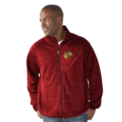 Chicago Blackhawks Full Count Track Jacket - Pro Jersey Sports
