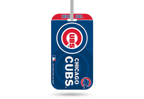 Chicago Cubs Royal Crystal View Rico Team Luggage Tag