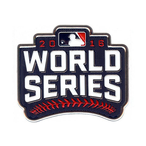 2016 World Series EmbossTech Patch By The Emblem Source - Pro Jersey Sports