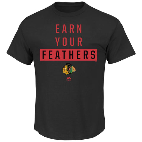 Chicago Blackhawks Have Pride Tee By Majestic