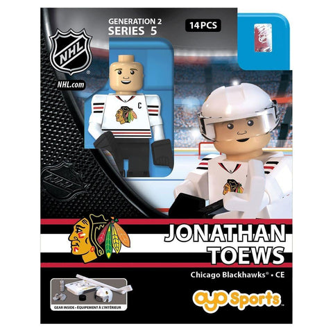 Chicago Blackhawks Jonathan Toews #19 Road Jersey Oyo Figure Series 5