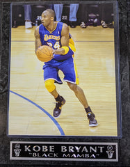 "Kobe Bryant Los Angeles Lakers ""Black Mamba"" Wall Plaque"