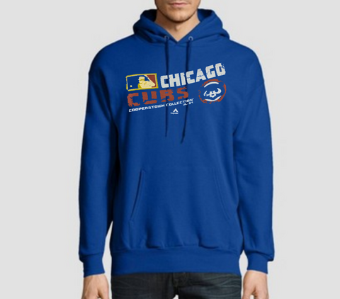 Men's Chicago Cubs Cooperstown Collection Team Choice Sweatshirt