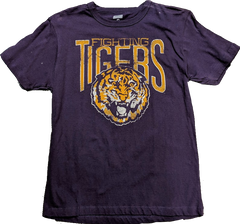 Tailgate Men's LSU Tigers Mascot Honors Purple T-Shirt