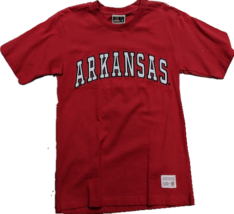Men's Colosseum  Athletics Arkansas Razorbacks Wordmark Tee