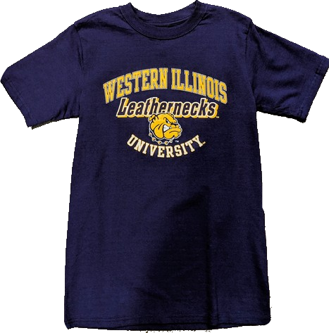 Mens Western Illinois Leathernecks Maroon Campus One T-Shirt
