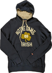 Men's Notre Dame Fighting Irish Vintage Mast Blue Tailgate Hoodie