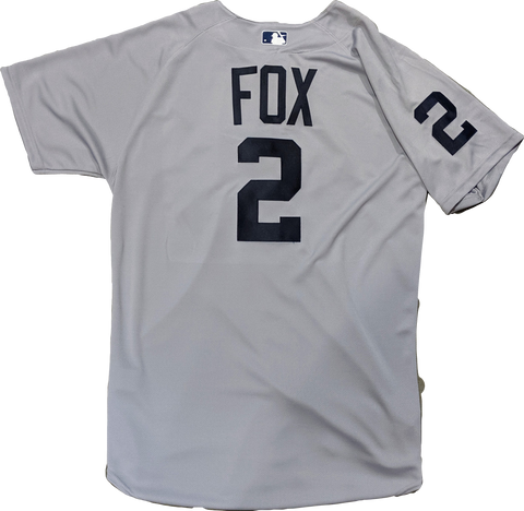 Nellie Fox Chicago White Sox MLB 1960 Road Authentic Gray Cool Base Jersey