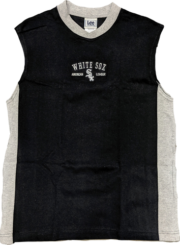 Youth Chicago White Sox Embroidered Logo Sleeveless Tee By Lee Sport
