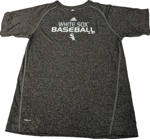 Youth MLB Chicago White Sox Baseball Short Sleeve Heathered Climalite Tee
