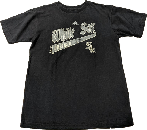 Youth MLB Chicago White Sox Short Sleeve Old English Tee