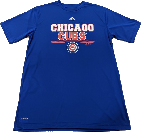 MLB adidas Chicago Cubs Youth Climalite T-Shirt