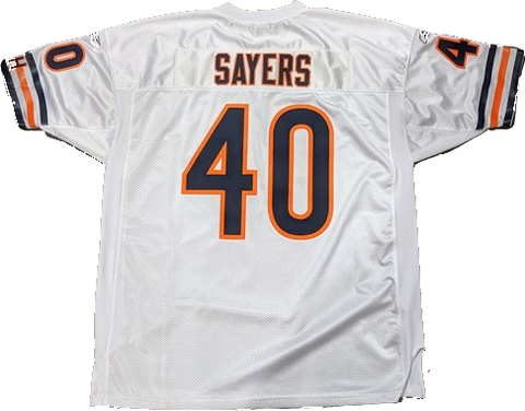 Gale Sayers Chicago Bears Authentic White NFL Jersey