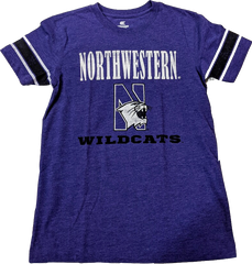 Colosseum Youth Northwestern Wildcats Free Agent Short Sleeve T-Shirt