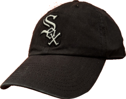 8cb7d3ff0b10b Mens Chicago White Sox Big Logo Franchise Slouch Fitted hat By  47 Bra