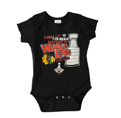 Newborn/ Infant Chicago Blackhawks 2013 Stanley Cup Champions Creeper