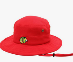 Chicago Blackhawks Coach LP Flex Bucket Hat