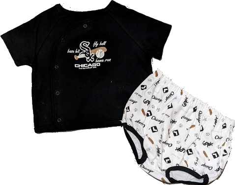 Infant Chicago White Sox Fly Ball 2-Piece Top and Bottom Set