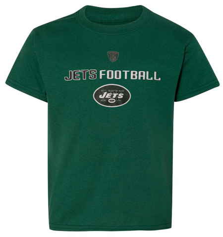 Youth New York Jets Line Of Football tee
