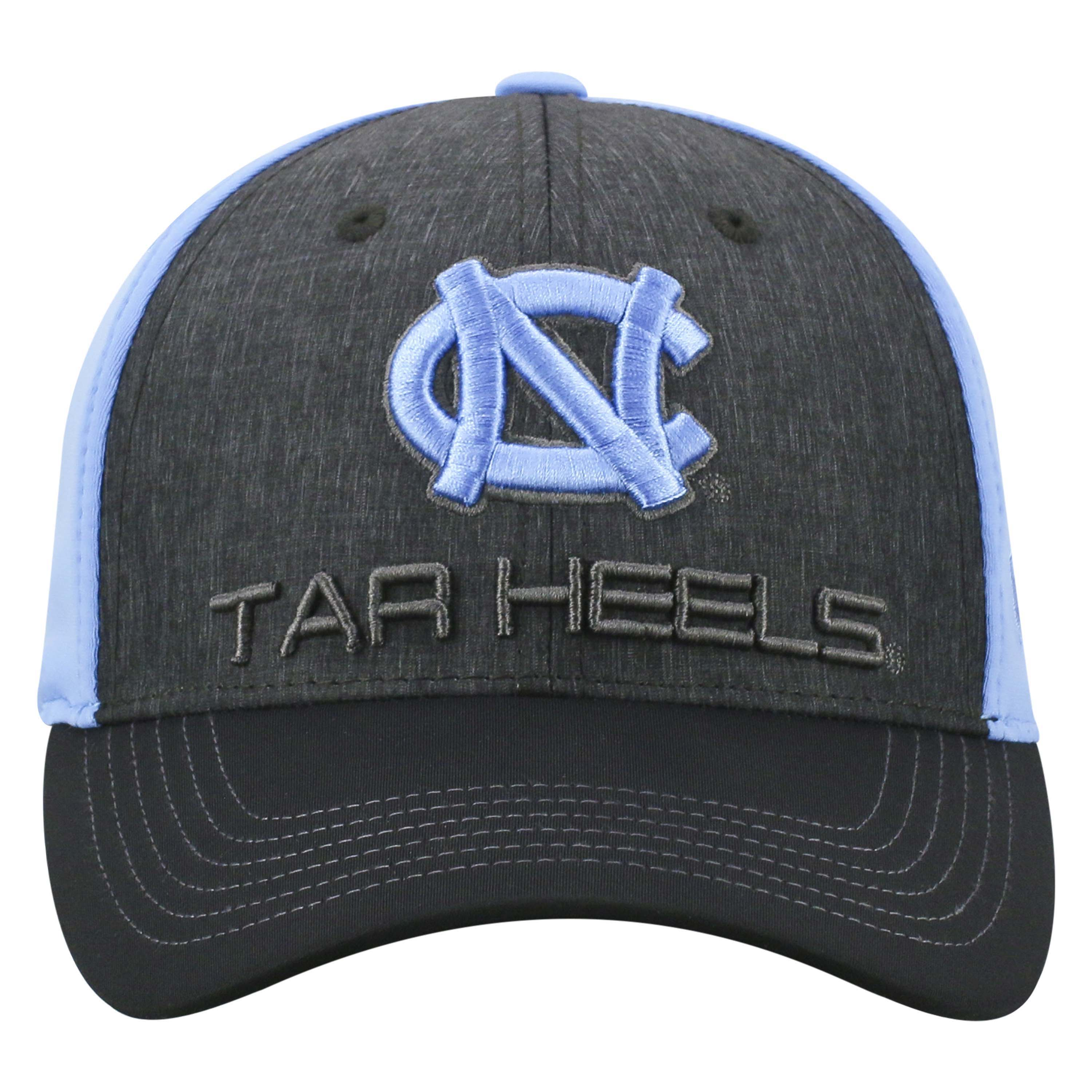 fc30e3bd5a Mens North Carolina Tar Heels Reach One Fit Flex Fit Hat By Top Of The World