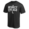 Men's Chicago White Sox Fanatics Branded Black 2020 Postseason Locker Room T-Shirt