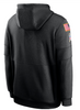 Men's New England Patriots Nike Black 2020 Salute to Service Sideline Performance Pullover Hoodie